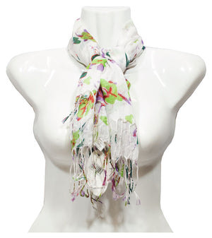 Women Printed Fashion Casual Fall / Spring Scarves Wholesale - Dallas General Wholesale