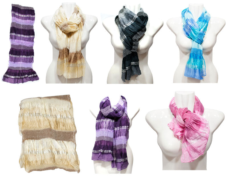 Ladies Fall / Spring Fashion Scarf Wholesale - Dallas General Wholesale