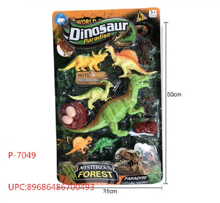 10 PC PVC Dinosaurs Play Sets Wholesale - Dallas General Wholesale