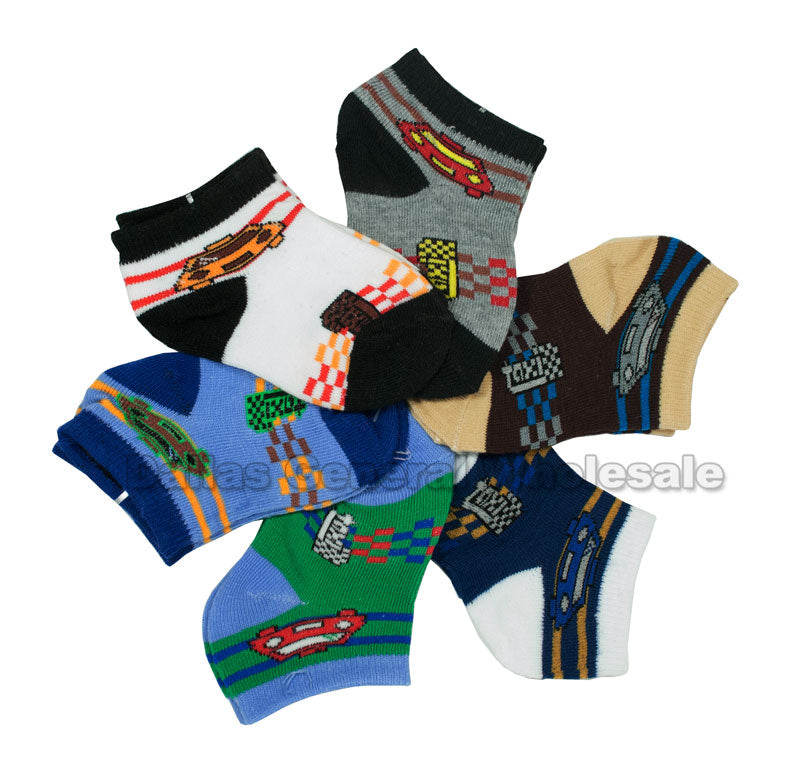 Infant Baby Boys Ankle Socks Wholesale - Dallas General Wholesale