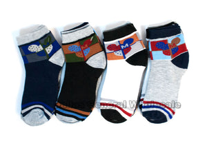 Little Boys Casual Ankle Socks Wholesale - Dallas General Wholesale