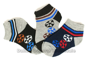Little Boys Soccer Casual Socks Wholesale - Dallas General Wholesale