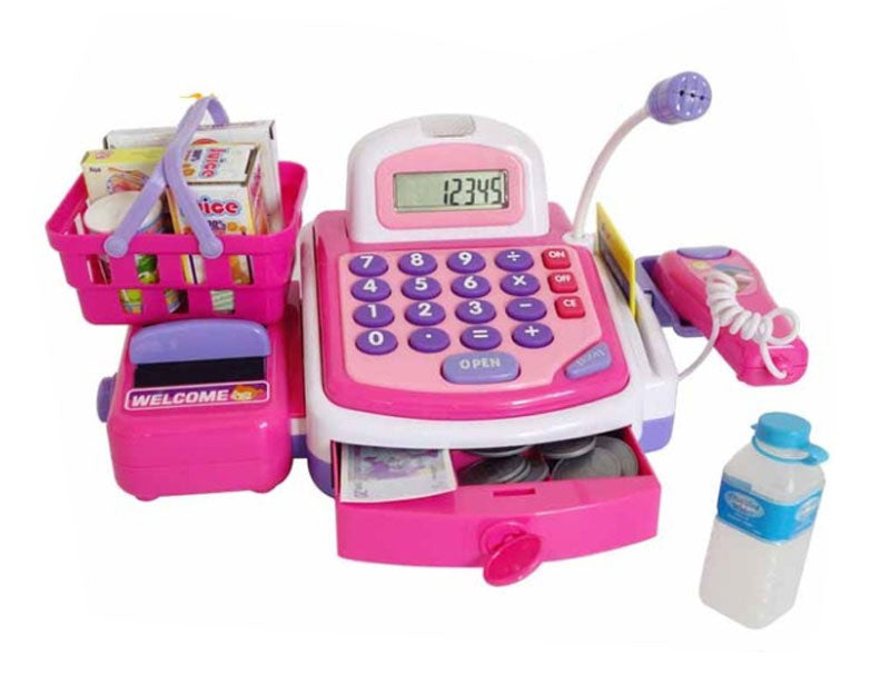 Electronic Cash Register Play Set Wholesale - Dallas General Wholesale
