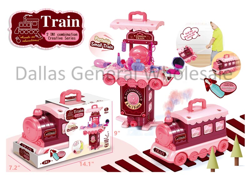 Toy 2-in-1 Beauty Suitcase Dresser Wholesale