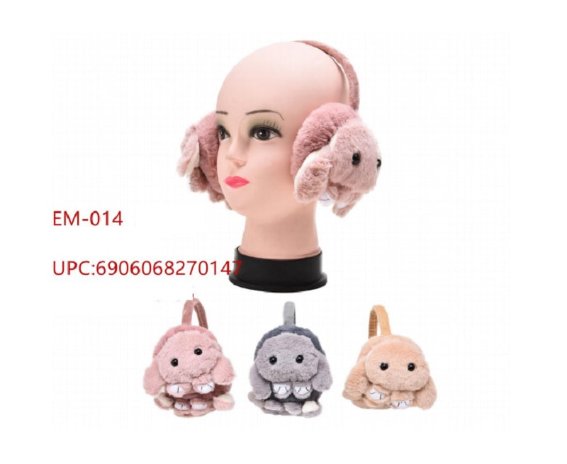 Little Kids Fur Bunny Earmuffs Wholesale - Dallas General Wholesale