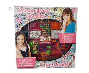 2-in-1 DIY Beads Jewelry Play Set Wholesale