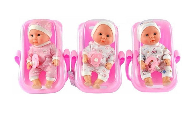 Toy Baby Dolls in Car Seat Wholesale - Dallas General Wholesale