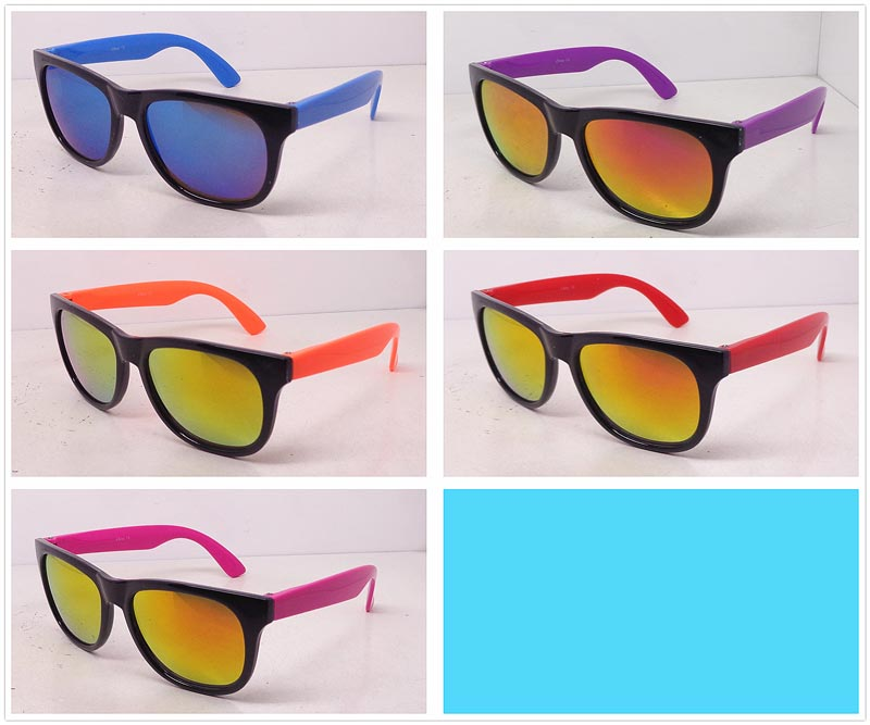 Kids Plastic Frame Sunglasses Wholesale