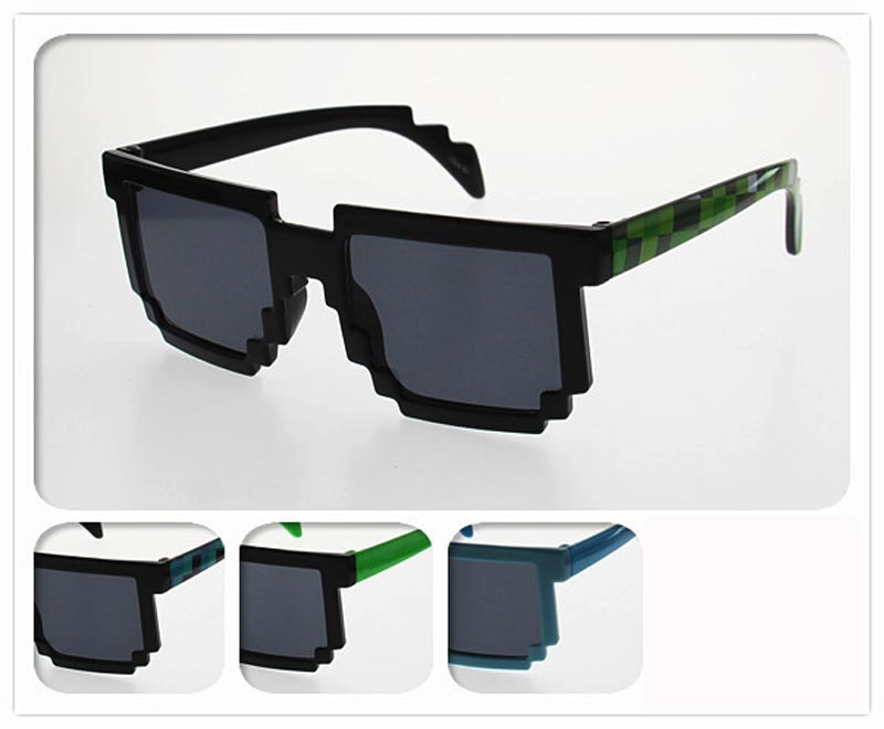 Kids Pixlated Designed Sunglasses Wholesale