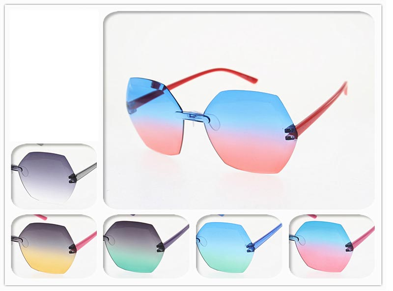 Kids Rainbow Lesnses Sunglasses Wholesale