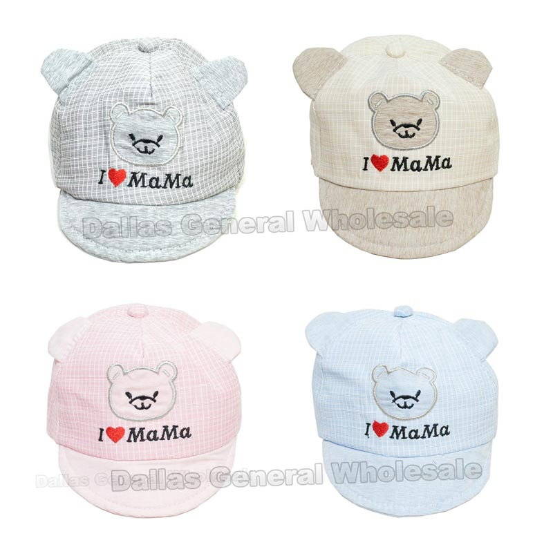I love Mama Baby Caps Wholesale