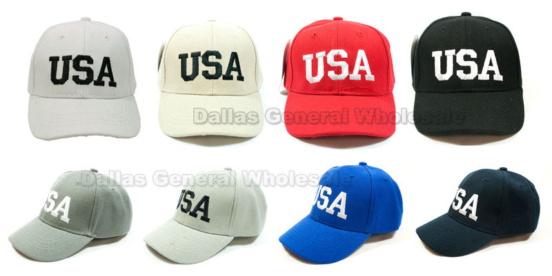 Little Kids USA Casual Baseball Caps Wholesale - Dallas General Wholesale