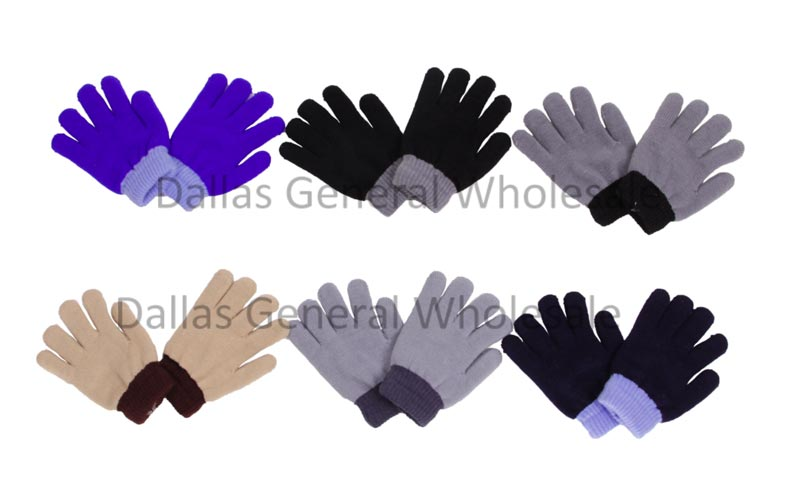 Little Boys Full Finger Gloves Wholesale