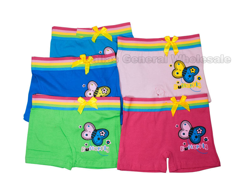 Little Girls Boxer Briefs Wholesale - Dallas General Wholesale