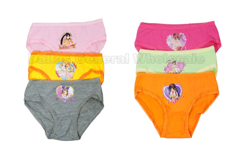 Little Girls Cute Casual Underwear Wholesale - Dallas General Wholesale
