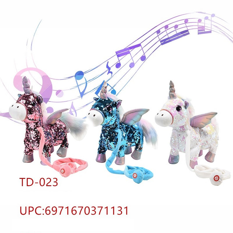 Toy Walking Music Unicorns Wholesale - Dallas General Wholesale