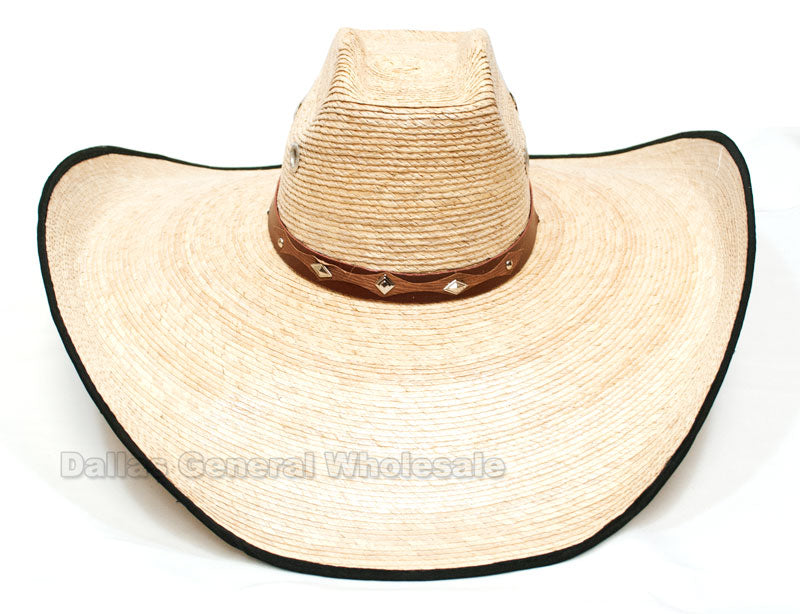 Large Straw Sombrero Hats Wholesale - Dallas General Wholesale