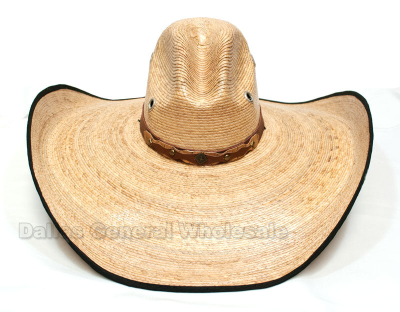 Cowboy Straw Sombrero Hats Wholesale - Dallas General Wholesale