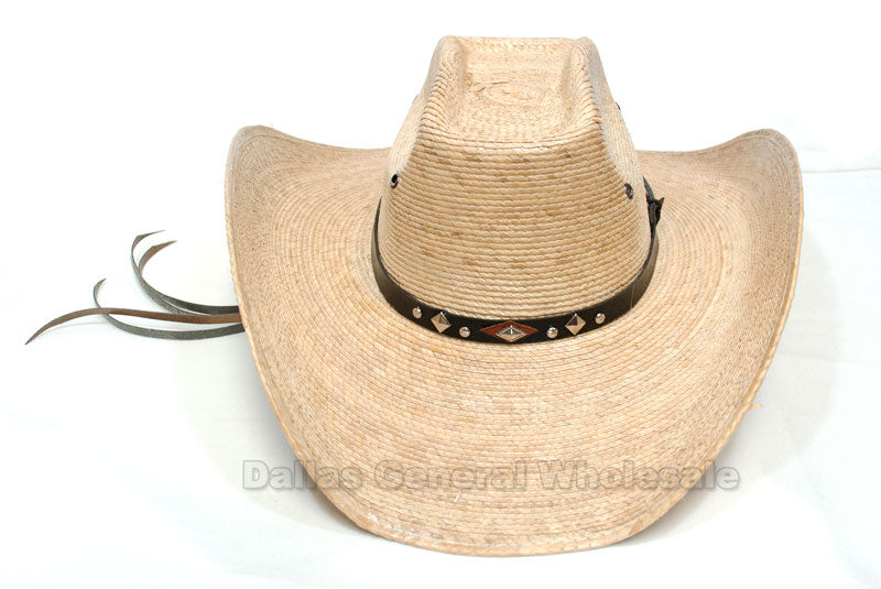 Fashion Cowboy Straw Hats Wholesale - Dallas General Wholesale