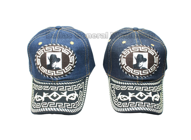 """Cowboy"" Jeans Casual Caps Wholesale - Dallas General Wholesale"