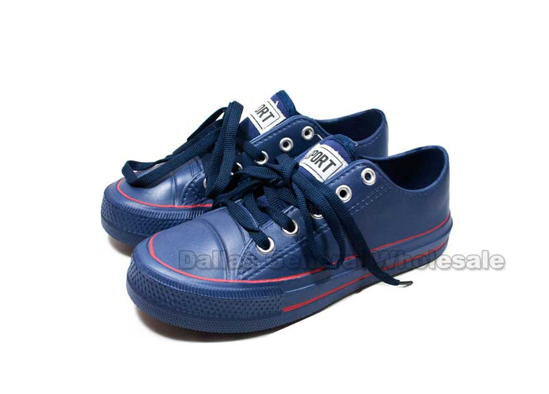 Boys PVC Sneaker Shoes Wholesale - Dallas General Wholesale