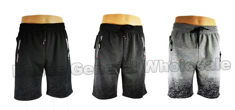 Men Casual Track Jogger Shorts Wholesale - Dallas General Wholesale