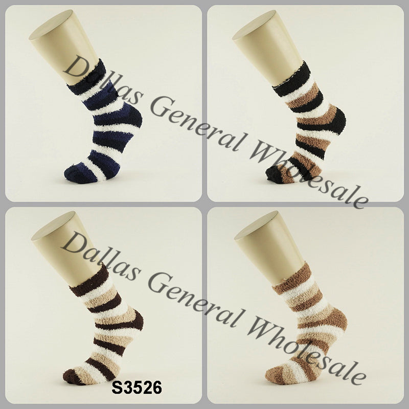 Men Comfy Fuzzy Socks Wholesale