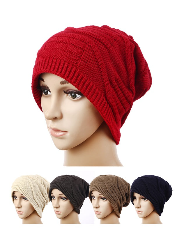 Men Trendy Fleece Lining Beanie Caps Wholesale - Dallas General Wholesale