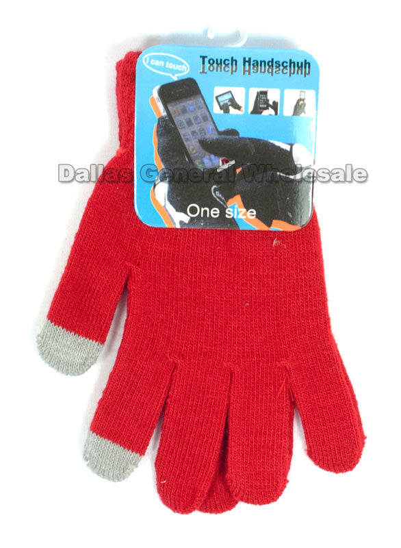 Texting Touch Gloves Wholesale - Dallas General Wholesale