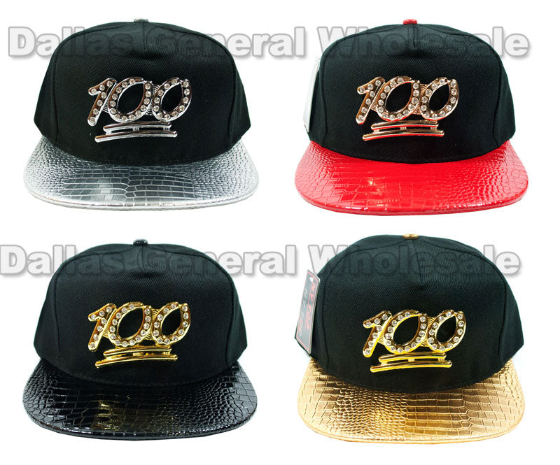 """100"" Trendy Snap Back Caps Wholesale - Dallas General Wholesale"