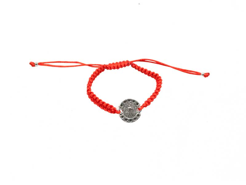 Religious Medal Drawstring Bracelets Wholesale - Dallas General Wholesale