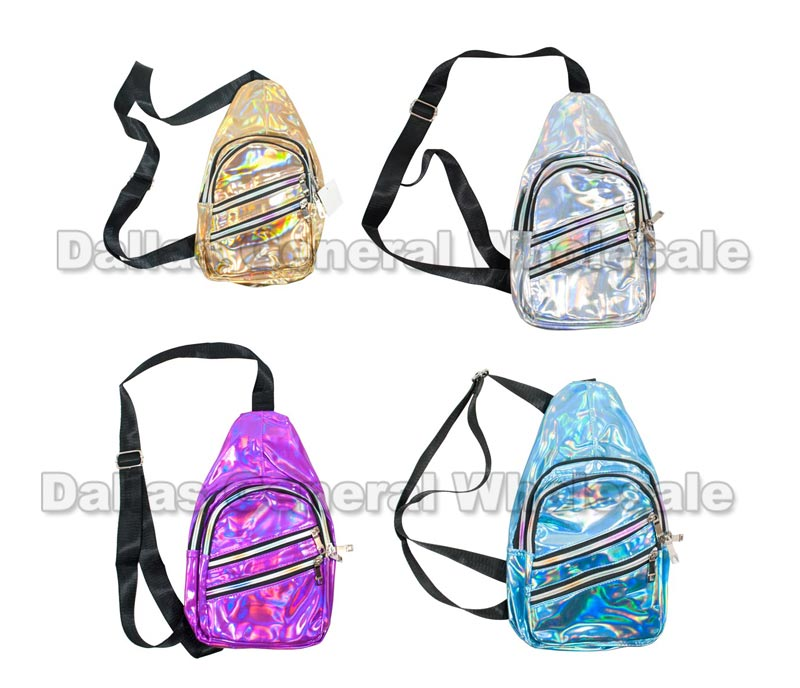 Fashion Metallic Cross Body Bags Wholesale - Dallas General Wholesale