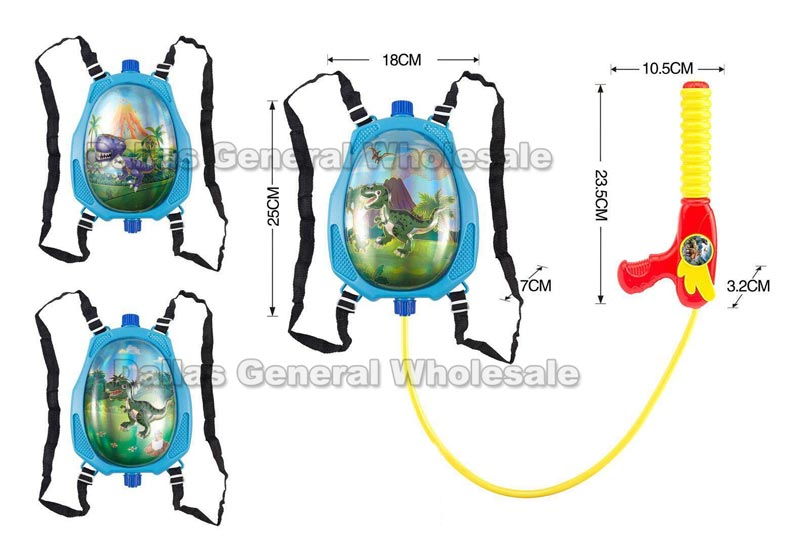 Toy Dino Back Pack Water Guns Wholesale