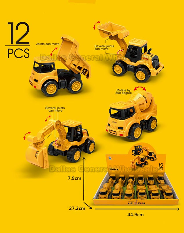 Toy Inertial Construction Trucks Wholesale