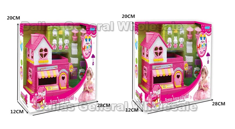 14 PC Play House Toy Sets Wholesale