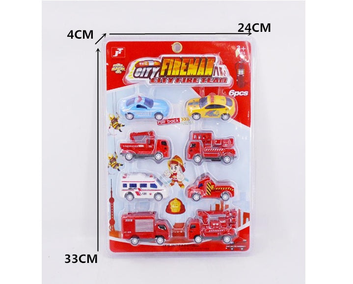 Emergency Cars Play Set Wholesale - Dallas General Wholesale
