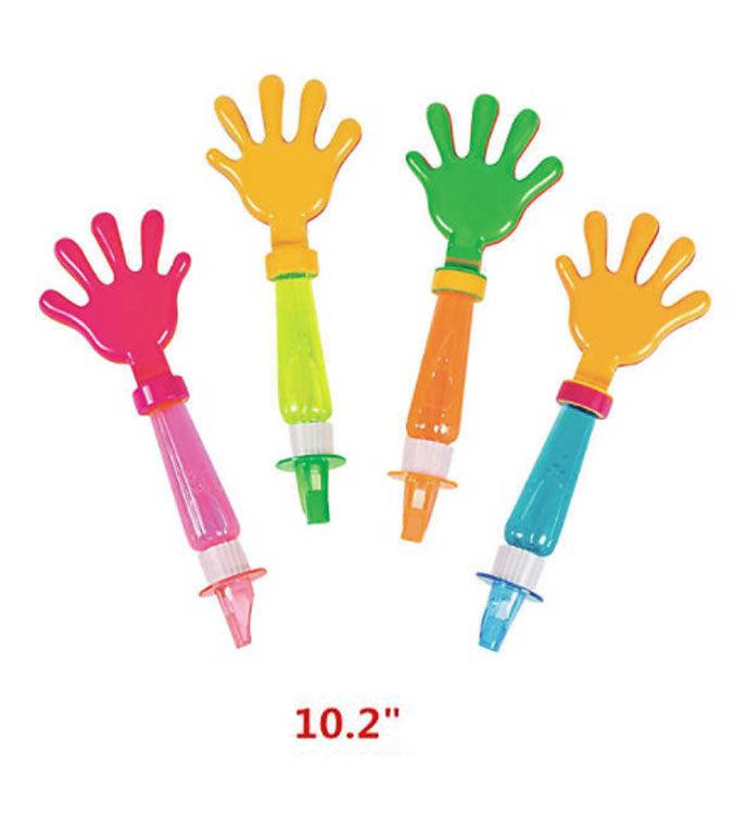 Hand Clapper Bubble Wands Wholesale - Dallas General Wholesale