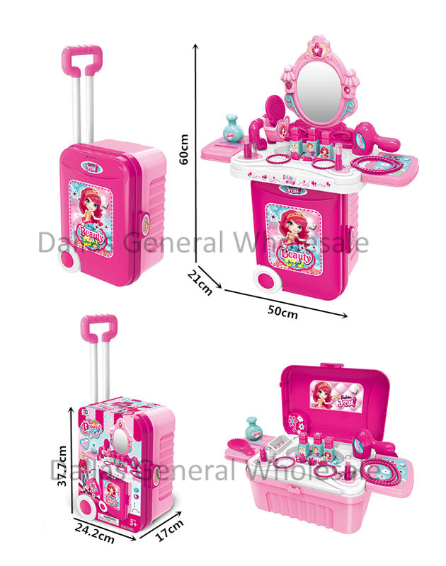Toy Make Up Stand Suitcase Play Set Wholesale