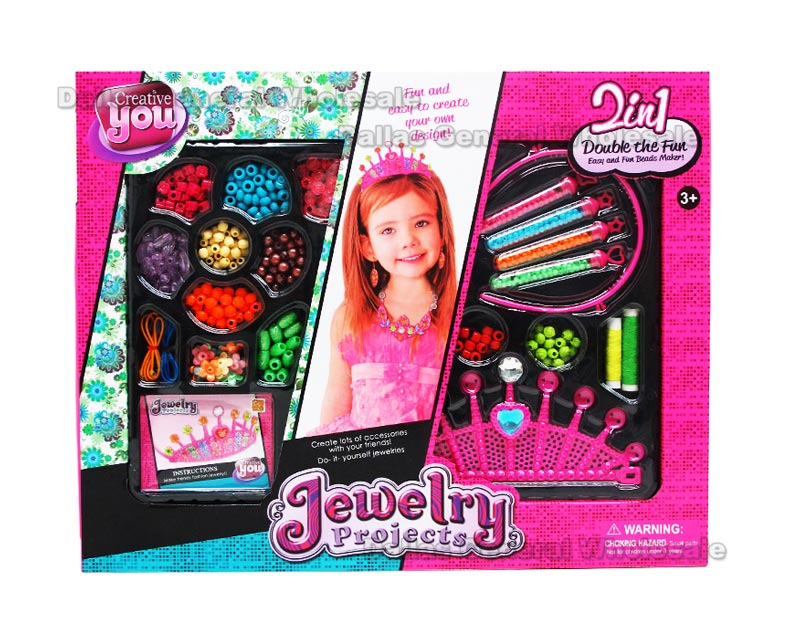 DIY Beads Jewelry Play Set Wholesale