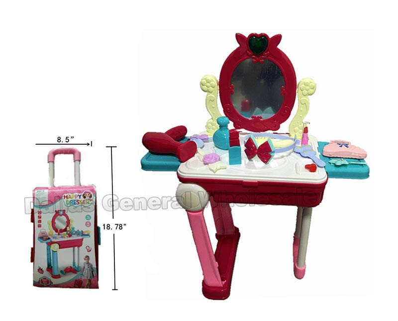 Toy Beauty Suitcase Dresser Set Wholesale - Dallas General Wholesale