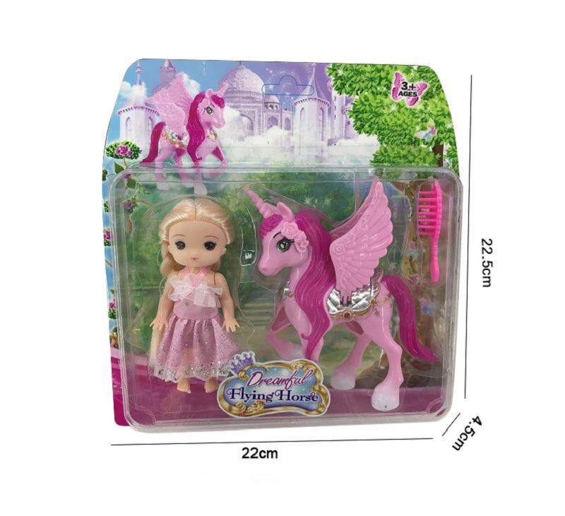 Play Doll with Unicorn Play Sets  Wholesale - Dallas General Wholesale