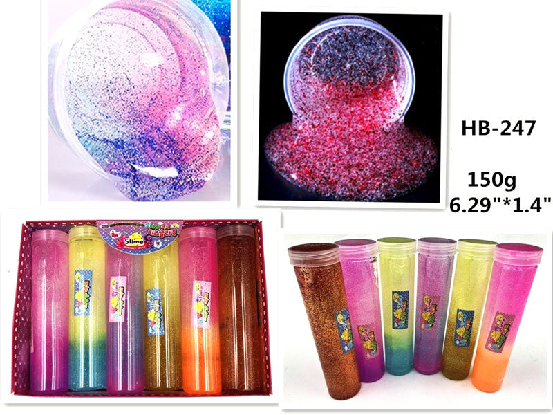 Glitter Transparent Slimes Wholesale - Dallas General Wholesale