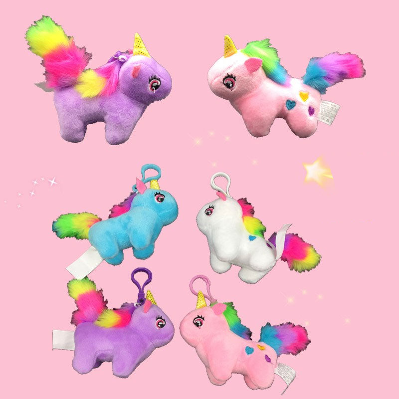 Plush Unicorn Key Chains Wholesale - Dallas General Wholesale