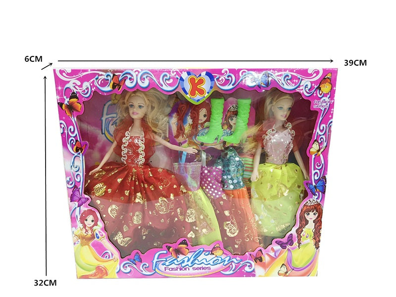 10 PC Girls Fashion Doll Closet Play Set Wholesale - Dallas General Wholesale
