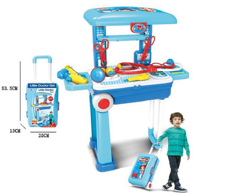 Toy Medical Station Suitcase Play Set Wholesale - Dallas General Wholesale