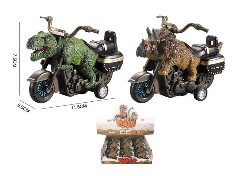 Toy Inertial Dinosaur Motorcycles Wholesale - Dallas General Wholesale