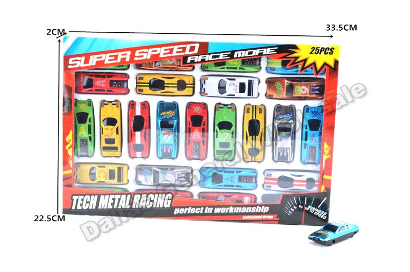 25 PC Toy Inertia Cars Play Sets Wholesale - Dallas General Wholesale