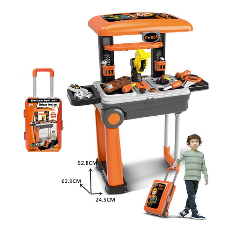 Toy Tools Station Suitcase Play Set Wholesale - Dallas General Wholesale