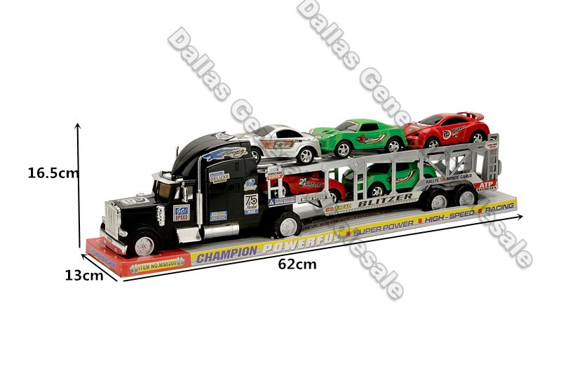 Toy Inertia Friction 18 Wheeler Trucks Wholesale