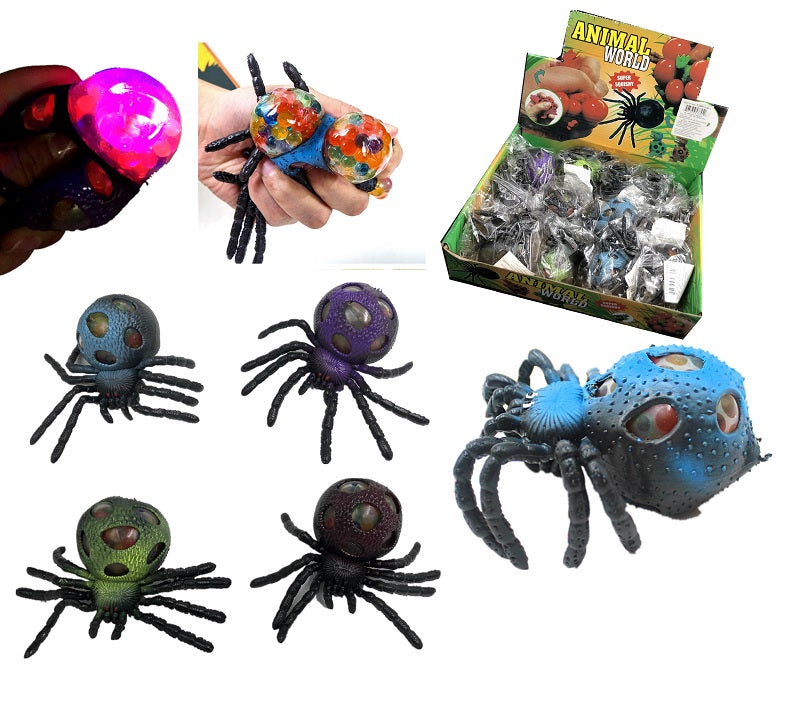 Light Up Tarantula Squishy Toys Wholesale - Dallas General Wholesale